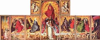 The Last Judgment Polyptych (1445–1450) by Rog...
