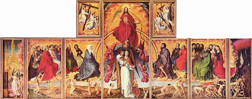 Das Jüngste Gericht Rogier Van Der Weyden Wikipedia