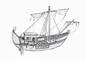 Roman Trade Ship Diagram