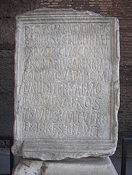 Rome Colosseum inscription.jpg