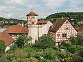 Romschlössle mit Rosengarten in Creglingen.jpg