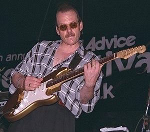 Ronnie Earl - Earl playing the 1996 Riverwalk Blues Festival