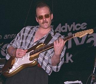 Ronnie Earl American blues guitarist