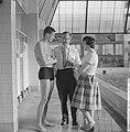 Ronny Kroon, kampioen 100 meter vrije slag oefent voor de Olympische Spelen, Kro, Bestanddeelnr 911-5059.jpg
