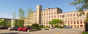 Mississippi Mills, Ontario - Rosamond Mill after reconstruction