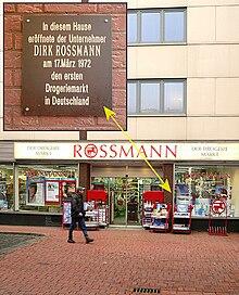 erster rossmann drogeriemarkt in hannover nahe dem lister platz erffnung am 17 mrz 1972 mittlerweile geschlossen - Rossmann Bewerbung Online