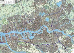 Rotterdam-topografie