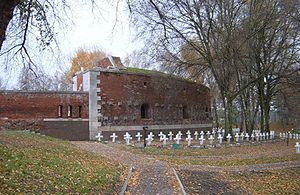 Zamość Fortress - One of surviving fragments of the Fortress; today a museum.