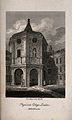 Royal College of Physicians, Warwick Lane, London; the entra Wellcome V0013108.jpg