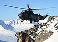 Royal Navy Seaking Mk4 Helicopter Over Northern Norway MOD 45156768.jpg