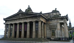 Royal Scottish Academy - The RSA building, viewed from the south