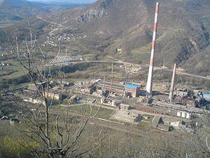 Zvečan - Image: Rudnik Trepča Zvečan