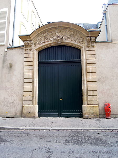 Maison, 8 rue de la Haye (Inscrit, 1930)
