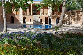 Khomeyn - The birthplace of Ayatollah Khomeini in Khomeyn.