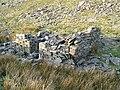 Ruin under Cwar y Gigfran - geograph.org.uk - 402215.jpg