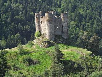 Alleuze - Château d'Alleuze