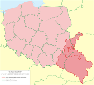 Red Ruthenia Historic Region in Central and Eastern Europe