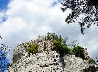 Ryczów, Silesian Voivodeship - Ruins of Ryczów castle