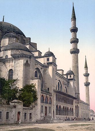 Süleymaniye Mosque - Süleymaniye Mosque, 1890