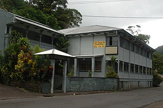 Pago Pago - English author W. Somerset Maugham stayed at Sadie Thompson Inn during his 6-week visit to Pago Pago in 1916.