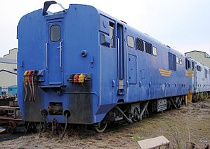 South African Class 12E - Image: SAR Class 12E 12 002