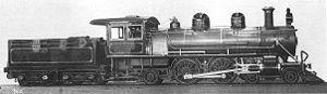 CGR 4th Class 4-4-2 - Image: SAR Klasse O4