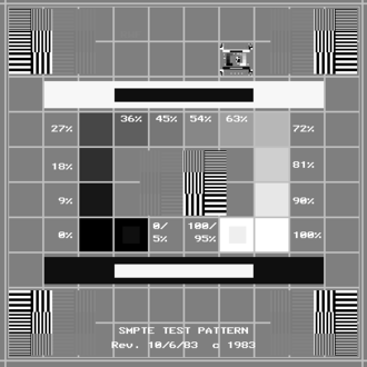 Society of Motion Picture and Television Engineers - Medical Diagnostic Imaging Test Pattern