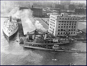 SM UC-97 - Image: SM UC 97 at Toronto 1919 PA 030314