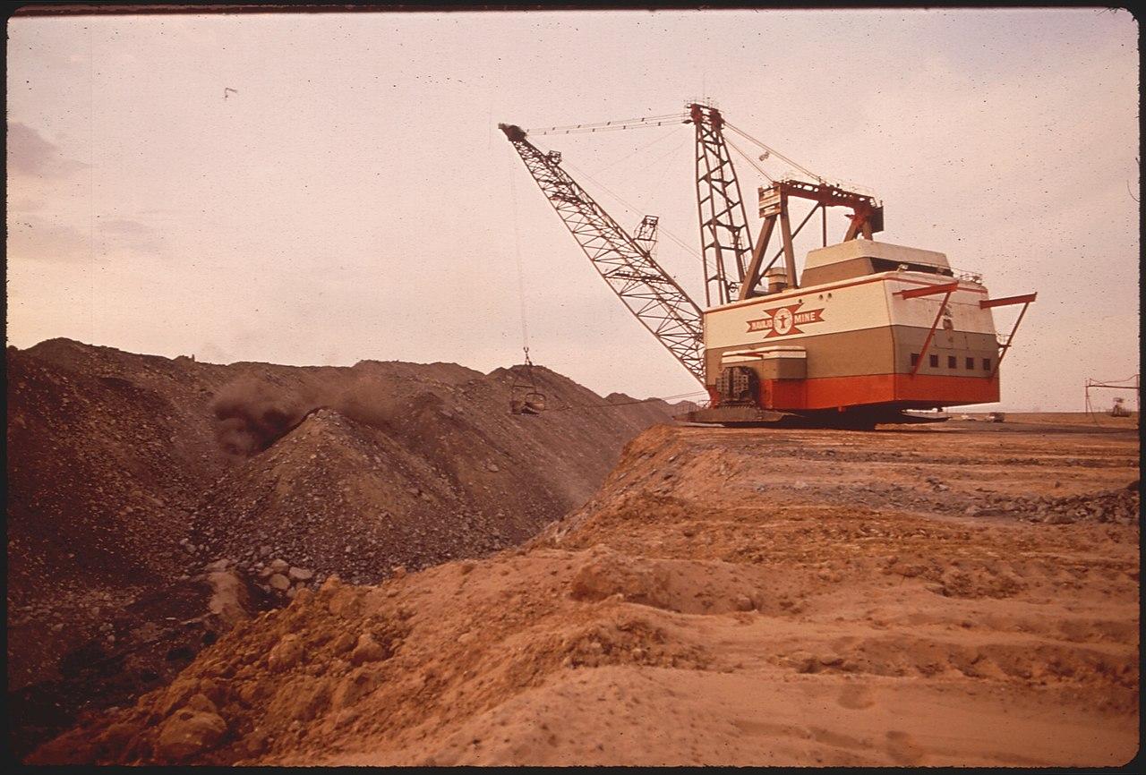 History of strip mining