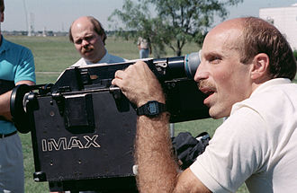 James P. Bagian - Bagian training to use the IMAX camera prior to STS-29.