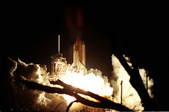 STS-92 - STS-92 launches from Kennedy Space Center, 11 October 2000