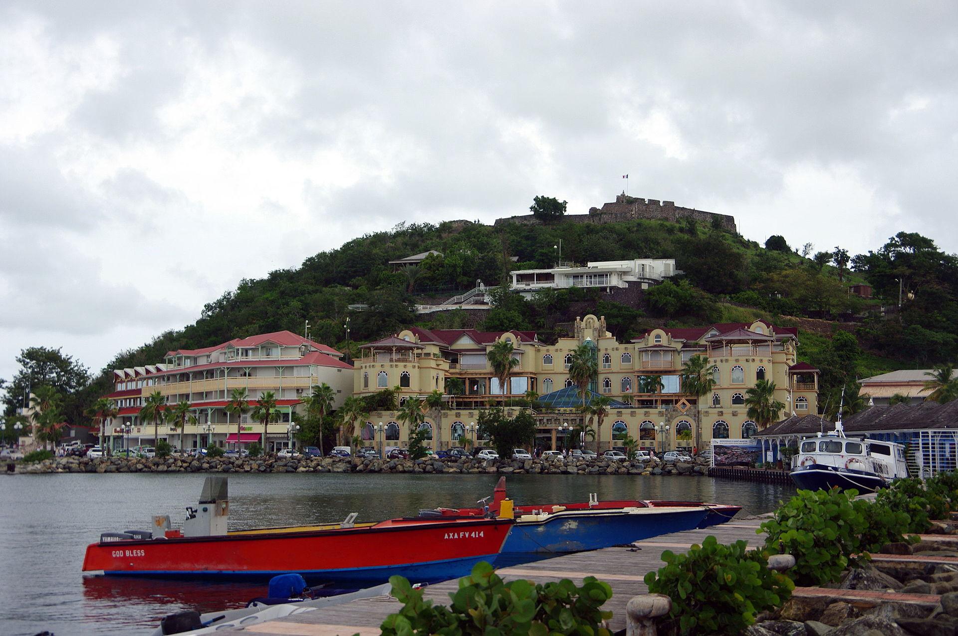 Marigot saint martin reisef hrer auf wikivoyage - Marina port la royale marigot st martin ...