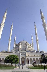 {{en}}The Sabancı Mosque in Adana, Turkey