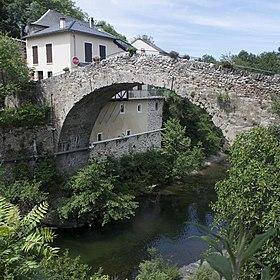 Pont roman sur la Dourbie