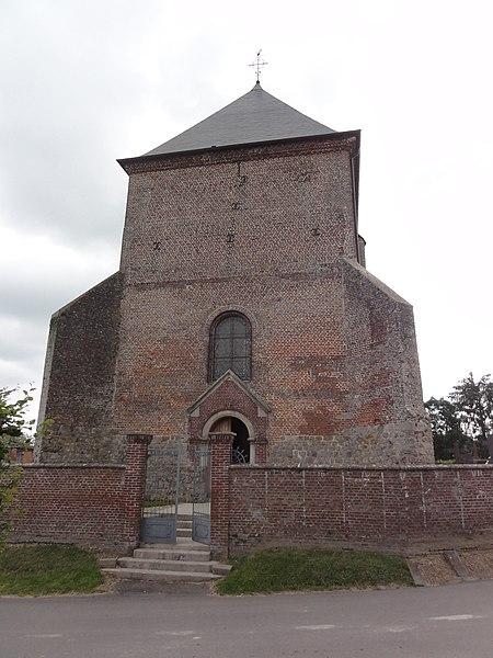 Saint-Algis (Aisne) église Saint-Algis