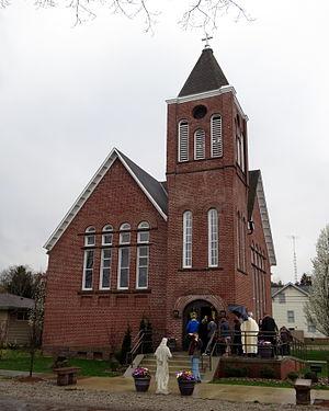 Dresden, Ohio - Saint Ann Catholic Church (Dresden, Ohio)