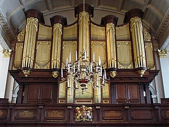 St George's, Hanover Square - Image: Saint Georges Church Organ, Hanover Square