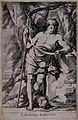 Saint John the Baptist. Engraving Rousselet by L. de La Hyre Wellcome V0032473.jpg
