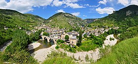 Sainte-Enimie, au cœur des gorges du Tarn.