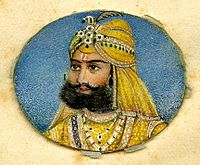 Sair Sing, King of Lahore, a late Mughal ruler..jpg