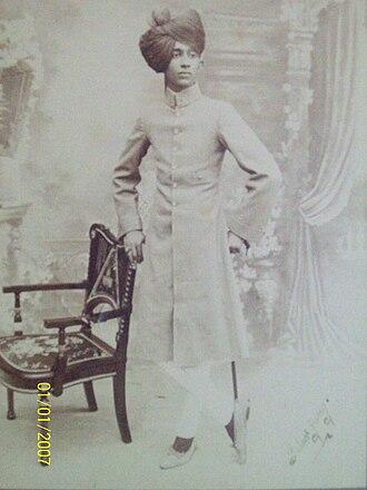 Mir Yousuf Ali Khan, Salar Jung III - Image: Salarjung II Ia