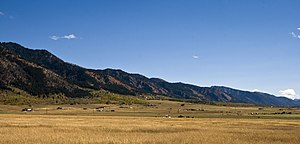 Star Valley - Star Valley south of Etna, Wyoming