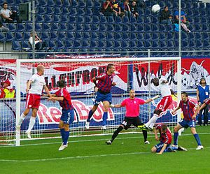 FK Senica - Image: Salzburg Senica 9
