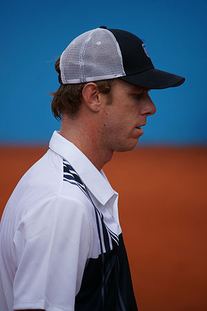 Sam Querrey - Querrey at the 2012 Nice Open