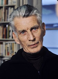 Samuel Beckett Nobel-winning modernist Irish novelist, playwright, short story writer, translator and poet