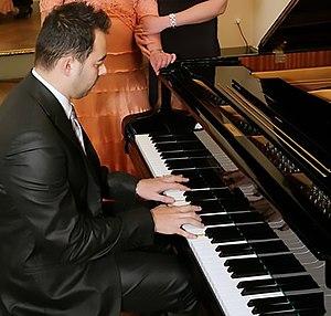 Concert de piano par Samuel Vallée
