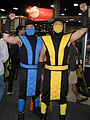 San Diego Comic-Con 2012 - Sub-Zero and Scorpion (7586403780).jpg