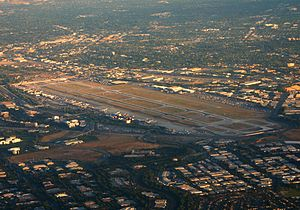 San Jose International Airport - Image: San Jose KSJC aerial