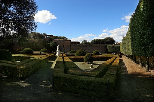 San quirico d'Orcia, Horti Leonini