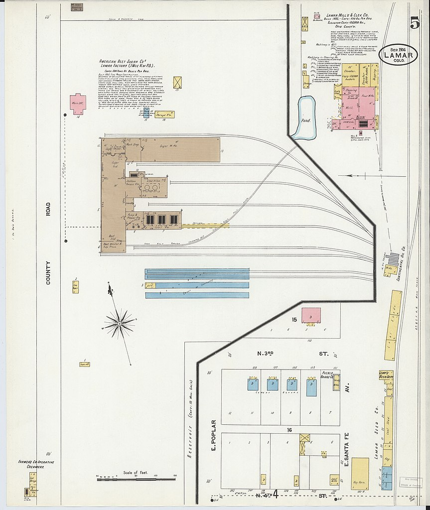 File Sanborn Fire Insurance Map From Lamar Powers County Colorado